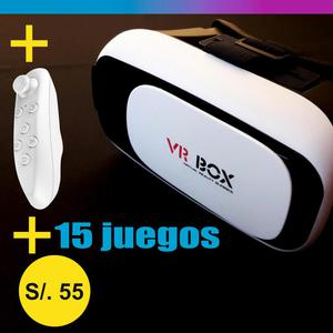 Lentes de Realidad Virtual 3d Vr Box 2.0