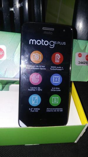 Vendo Moto G5 Plus Nuevo en Caja