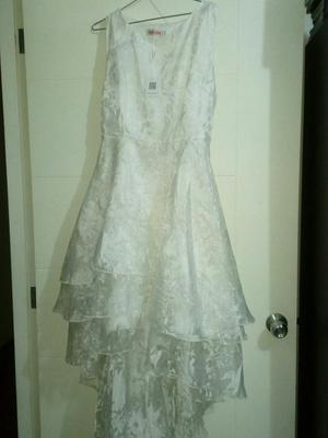Hermoso Vestido Blanco Nuevo