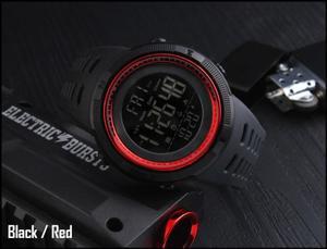 Reloj Skmei Negro/Rojo Digital