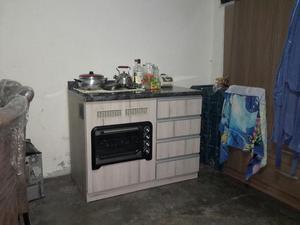 Cocina Y Horno en Melamine con Cajones