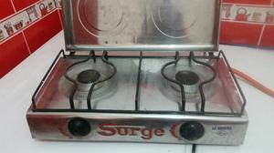 Cocina a Gas 2 Hornillas Marca Surge