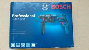 Rotomartillo| Bosch GBH 220D | con 2 cinceles y 1 broca