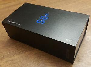 SAMSUNG GALAXY S8 PLUS 64 GB GARANTIA CAJA SELLADA NEGRO
