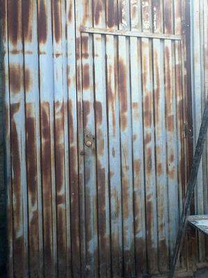 Portones con plancha acanalada posot class - Portones para garaje ...
