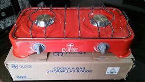 Vendo Cocina 2 Hornillas Dupree Rouge