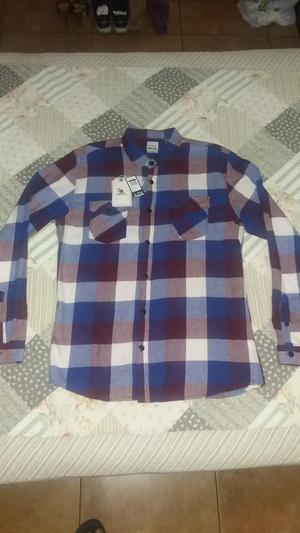 Camisa Franela Gotcha Nueva Original L