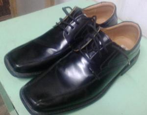 Zapatos de Cuero Caballero 43 Negros
