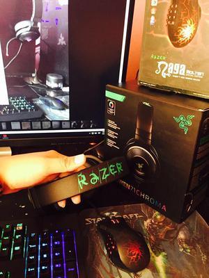 Audifonos Razer Kraken 7.1 Chroma Nuevos