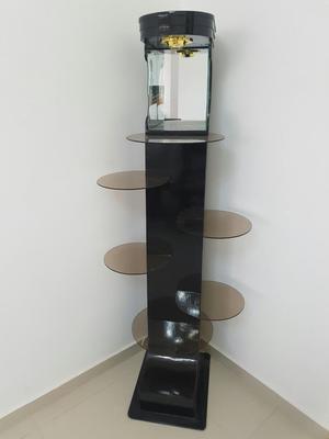 Repisa esquinero moderno para sala comedor posot class - Esquineros para sala ...