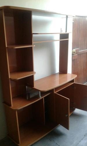 Mueble para tv centro sala entretenimiento melamine ... - photo#33