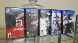 Vendo O Cambio Playstation 4 Juegos