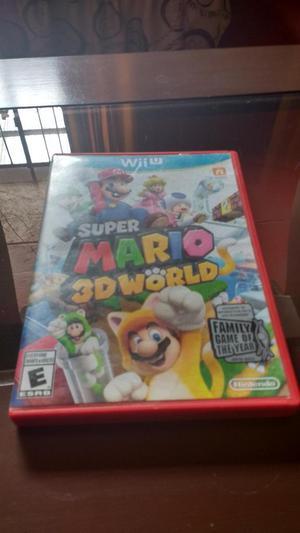 Vendo Videojuego Super Mario 3D World para Nintendo Wii U en