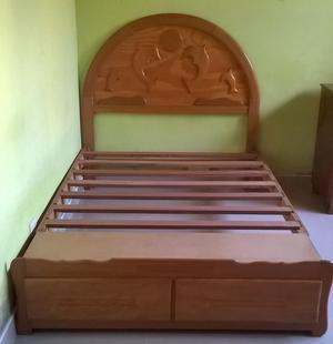 Vendo cama con sabanera de 2 plazas posot class for Vendo sofa cama 2 plazas