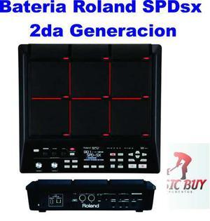 Bateria Roland Spd Sx Octapad Batería Version