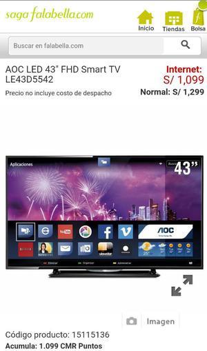 Aoc Smart Tv 43