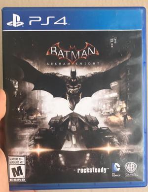 Batman Arkham Knight Ica Juegos Ps4