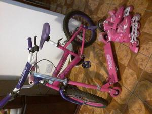 Bicicleta, scooter y patines