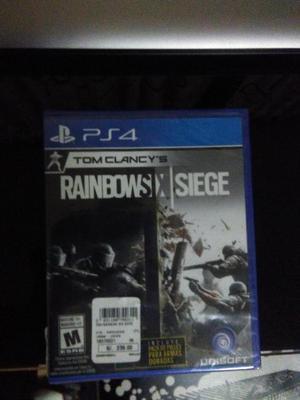 Rainbow six siege juego para PS4