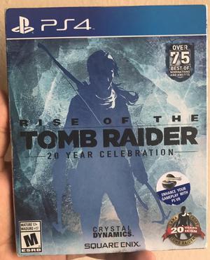 Rise Of Tomb Raider Ica Ps4 Juegos