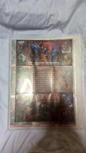 coleccion cards marvel completa binder