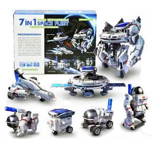 Kit Solar Robot Armable 7en1 No Lego Poker