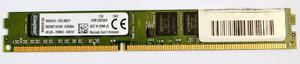 Memoria Ram Kingston Ddr3 4gb  Para Pc