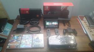 Nintendo Switch, 3 Juegos, Poco Uso