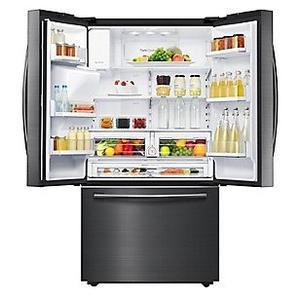 Refrigerador Samsung Rf28hfedbsg Pe 669 Lts Negro