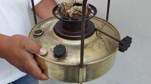 Antigua Cocina De Bronce De Mecha