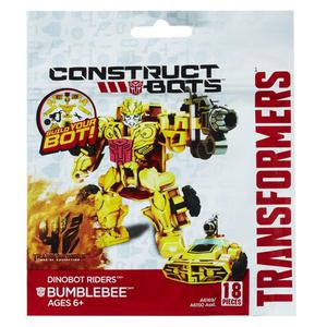 Hasbro Construct Bot Bumblebee armable 18 piezas