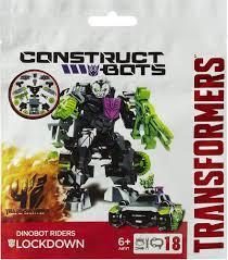 Hasbro Construct Bots Lockdown armable 18 piezas