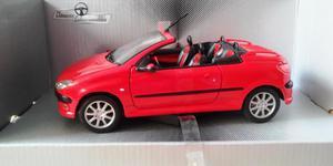 Peugeot 206 Auto De Colección En Escala 1:24 Nuevo