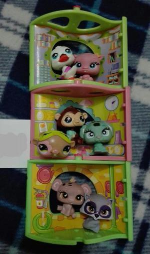 REMATO 'Littlest Pet Shop' Set de mini casitas
