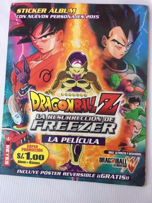 Álbum Dragon ball Z Resurreccion de Frezer XENOVERSE