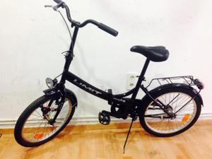 remato bicicleta plegable traida de fuera marca limit poco