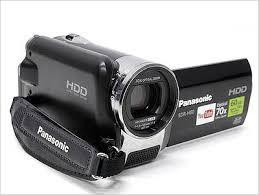 Camara filmadora Panasonic SDRHx 60GB HDD