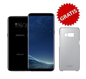 Samsung S8 en CAJA SELLADA y GRATIS clear cover de regalo,