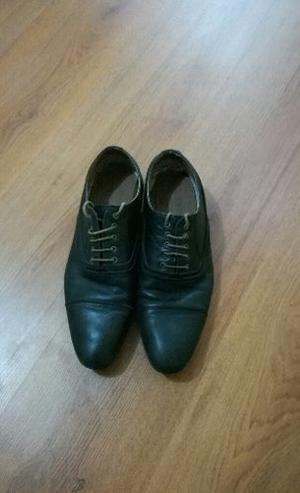Zapatos Cuero Eram Hombre Talla 43 Marca Francesa