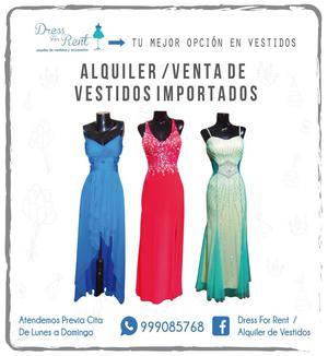 Alquiler / Venta de Vestidos Importados