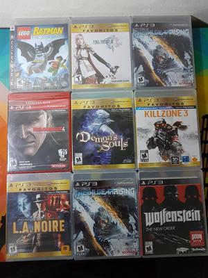 Juegos Playstation 3 Ps3 Nuevos Y Sellad