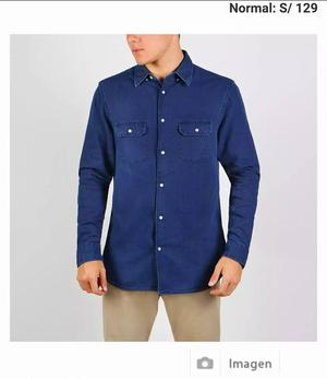 Camisa Basement Talla L Hm Zara Dockers cardin paco givenchy
