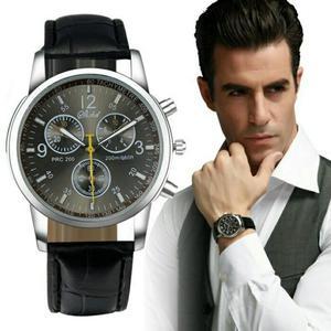 Elegante Reloj Correa de Cuero
