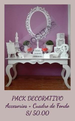 Mesas Vintage Decoración