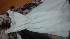Vestido blanco casual para fiesta