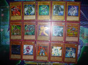 deck coleccionable de heroes elementales de yu gi oh gx