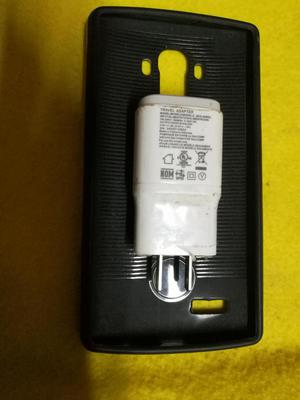 CARGADOR ORIGINAL DE CARGA RAPIDA PARA LG G4 LG G5 y case de