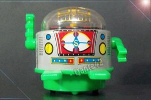 Dante42 Hojalata Robot A Friccion De Lata Antiguo Lata Japan