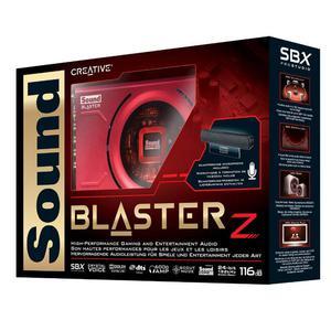 Sound Blaster Z Tarjeta microfono original caja disco driver