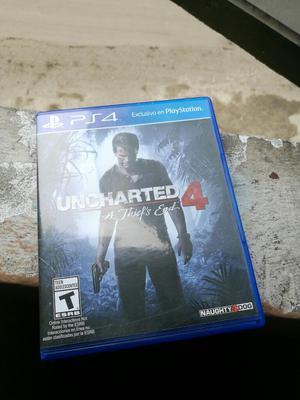 Vendo Uncharted 4 a 60 Soles